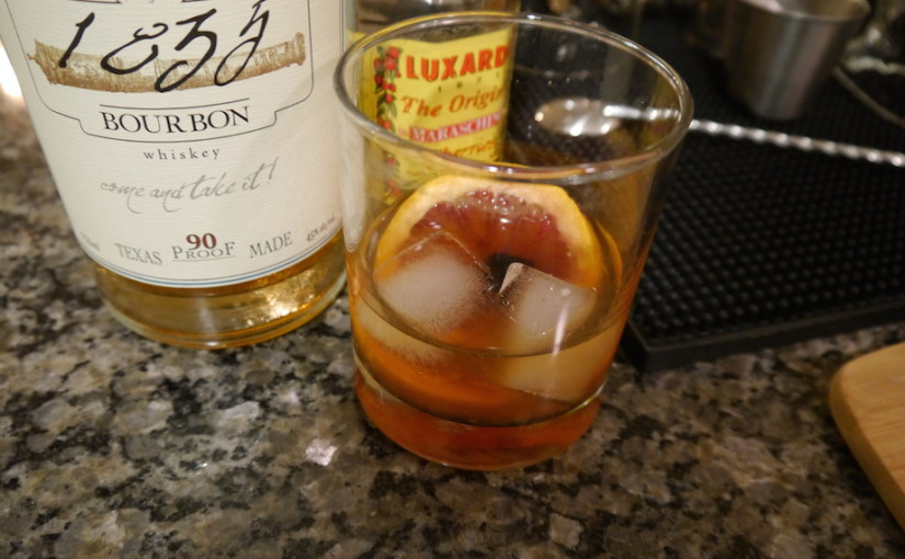 Day 3: Blood Orange Old Fashioned