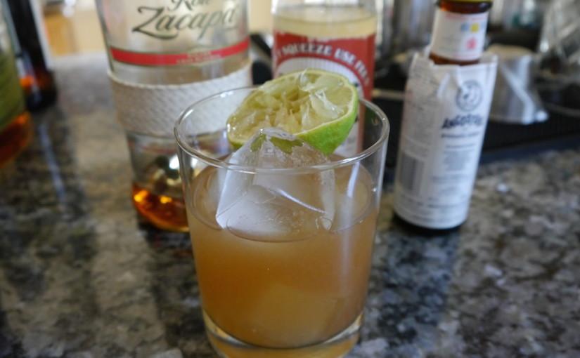 Day 32: Rum Swizzle